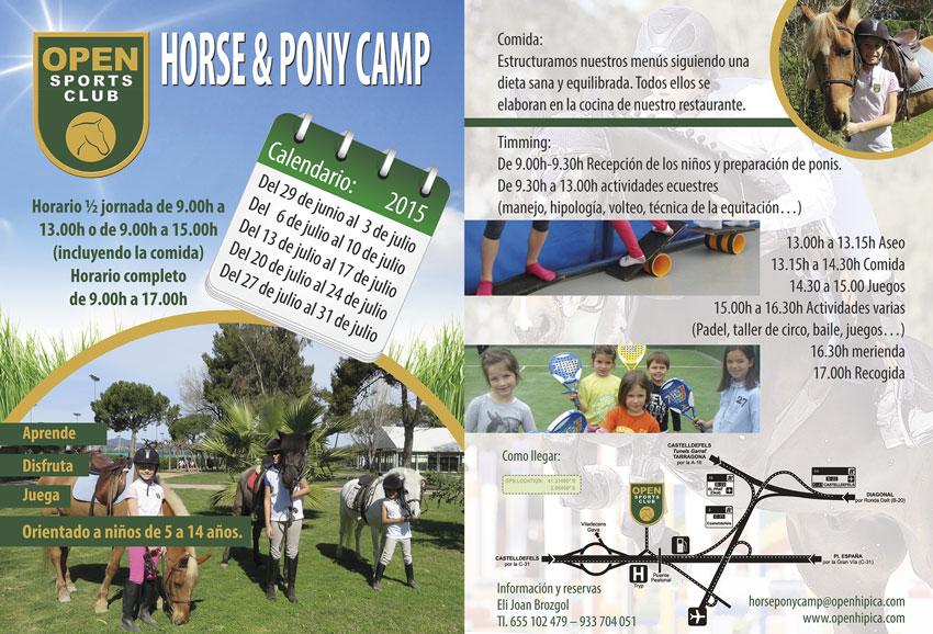 Horse & Pony Camp Verano 2015