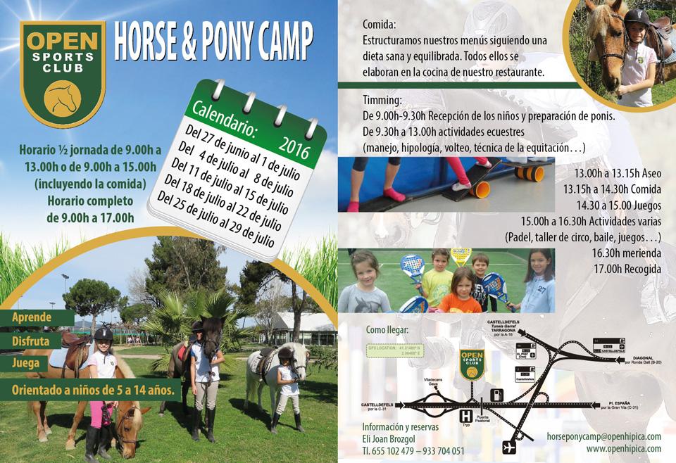 Horse & Pony Camp Verano 2016