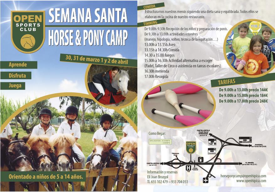 Horse & Pony Camp Semana Santa