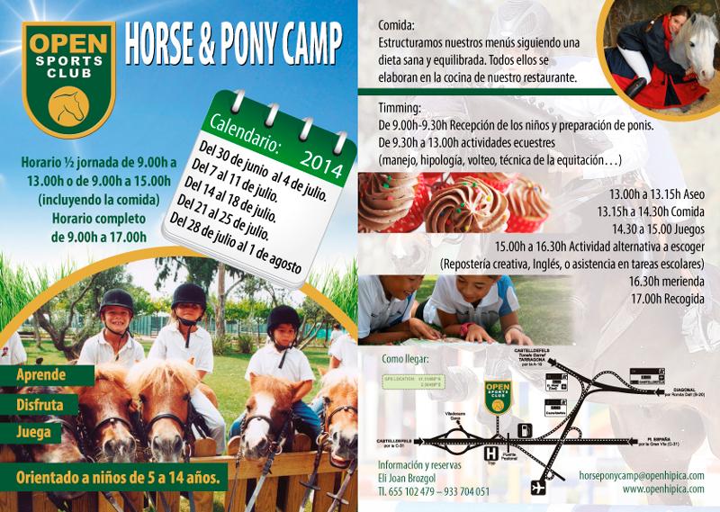 Horse & Pony Camp Calendario 2014
